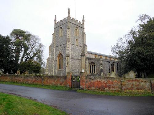 BARKWAY (ST. MARY MAGDALENE) CHURCHYARD