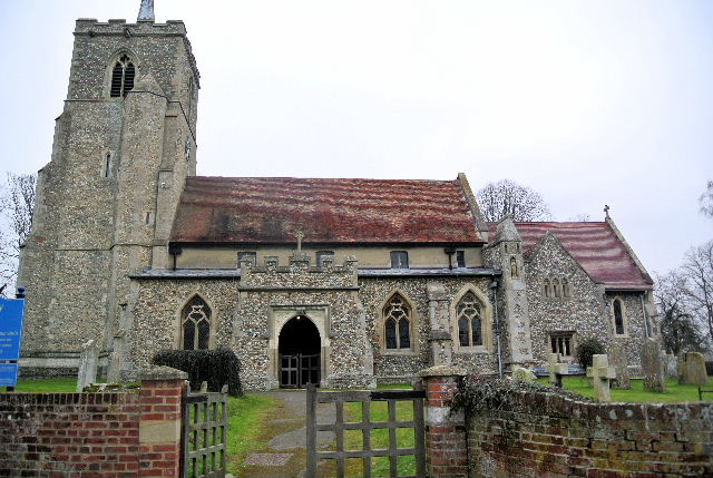 ALBURY (ST. MARY) CHURCHYARD
