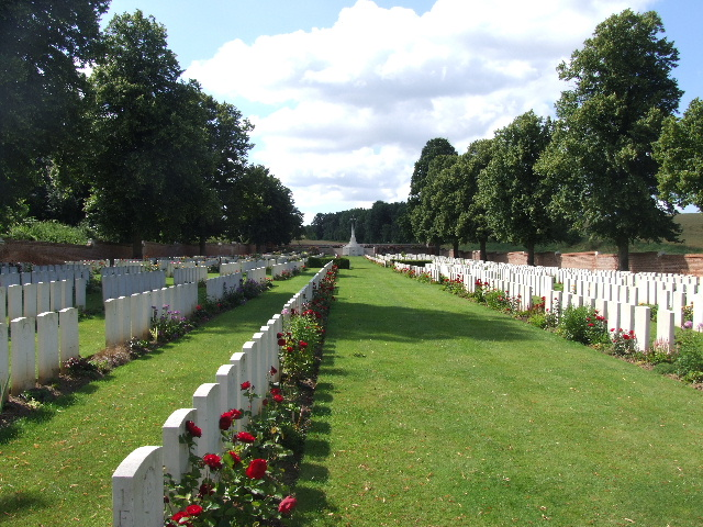 ANCRE BRITISH CEMETERY, BEAUMONT-HAMEL