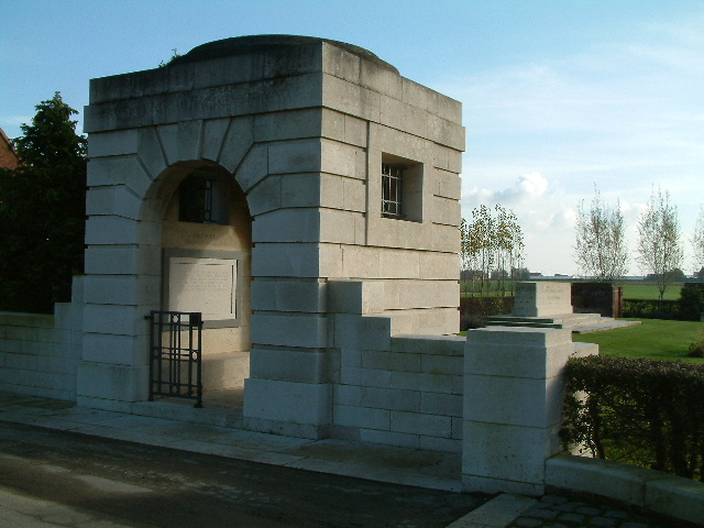 BRANDHOEK NEW MILITARY CEMETERY NO.3