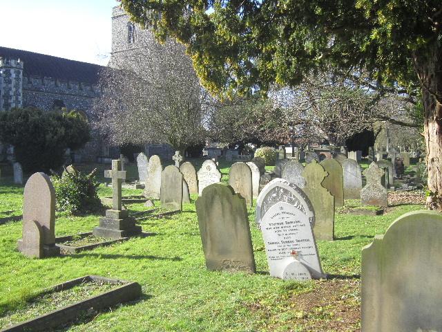 BROXBOURNE (ST. AUGUSTINE) CHURCHYARD