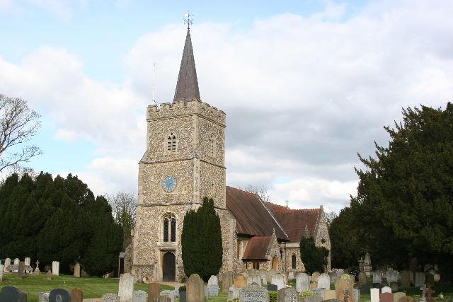 HERTINGFORDBURY (ST. MARY) CHURCHYARD