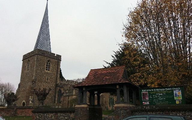 STEVENAGE (ST. NICHOLAS) CHURCHYARD