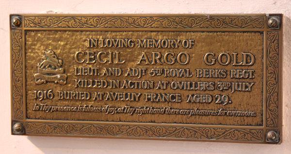 Cecil Argo Gold