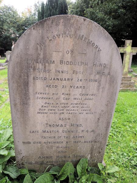 William Biddulph Hind