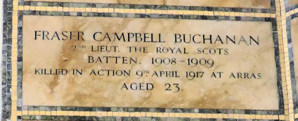 Fraser Campbell Buchanan