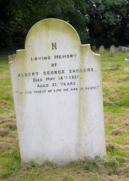 Albert George Saggers