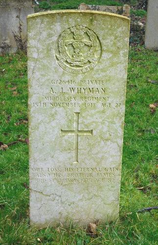 Alfred John Whyman