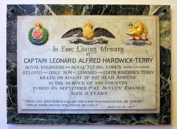 Leonard Alfred Hardwick-Terry