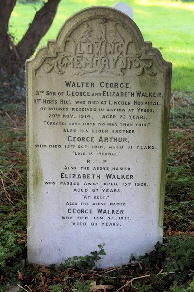 Walter George Walker