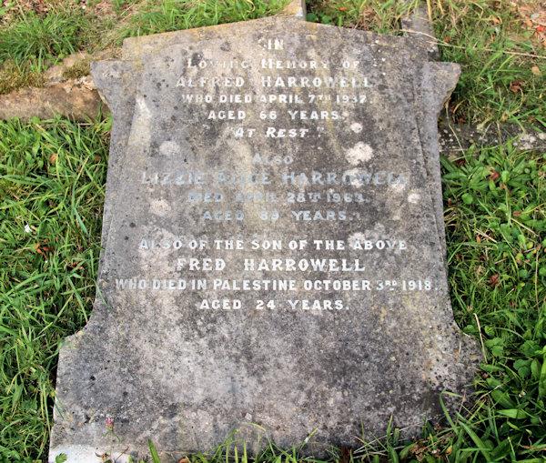 Fred Harrowell