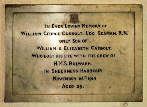 William George Casbolt