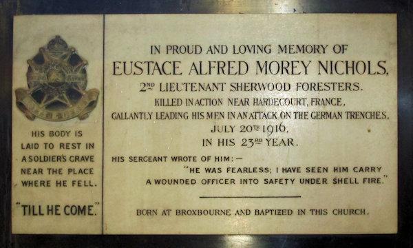 Eustace Alfred Morley Nichols